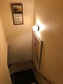 1階と2階をつなぐ階段